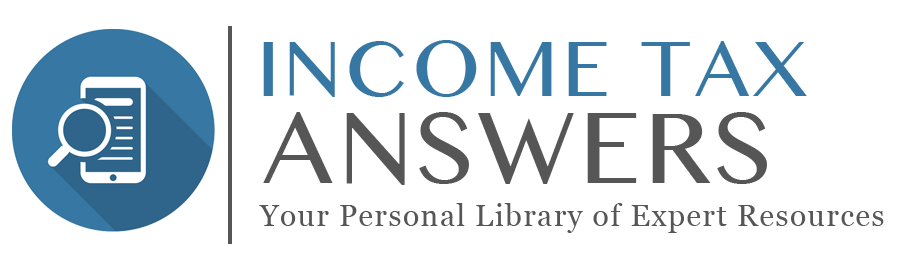 Income Tax Answers